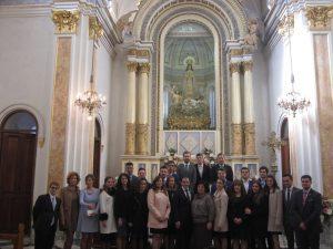 Clavaría y Mayoralía 2015-2016 tras finalizar la misa