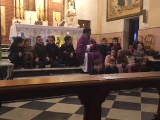Santa Missa oferida a la Puríssima per la catequesi i els Angelets i Frarets 2017