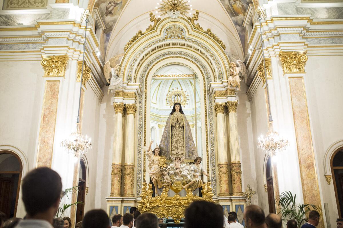 Actos de la novena y solemnidad del día 8 de diciembre en honor a la Purísima en el año 2020