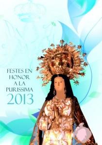 Portada Libro Fiestas Purísima 2013 (Mobile)