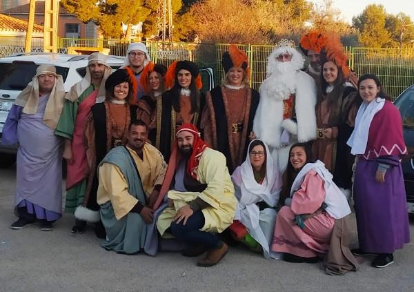 El Rey Melchor visita la Parroquia de San Francisco