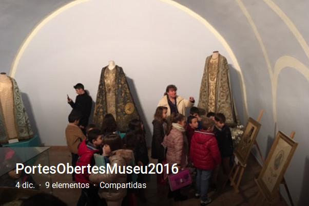 Àlbum del Dia de Portes Obertes del Museu de l'Arxiconfraria de la Cort de Maria