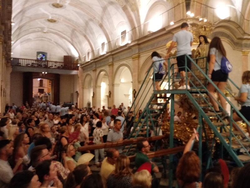 Solemne «Baixà» de la Puríssima i Exaltació de la Imatge del Pare Sant Francesc