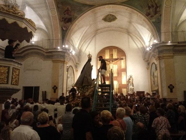 «Baixà» de la Puríssima i Exaltació del Pare Sant Francesc