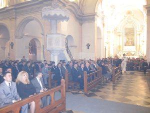 Nombroses persones van assistir a la missa