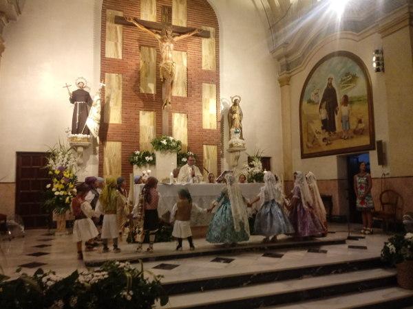 Dia dels Angelets i Frarets a les festes de la Puríssima 2019