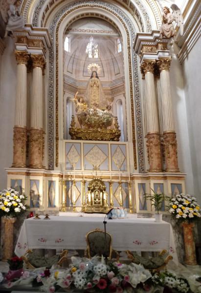 Missa oferida a la Puríssima per la catequesi d'infància i els Angelets i Frarets