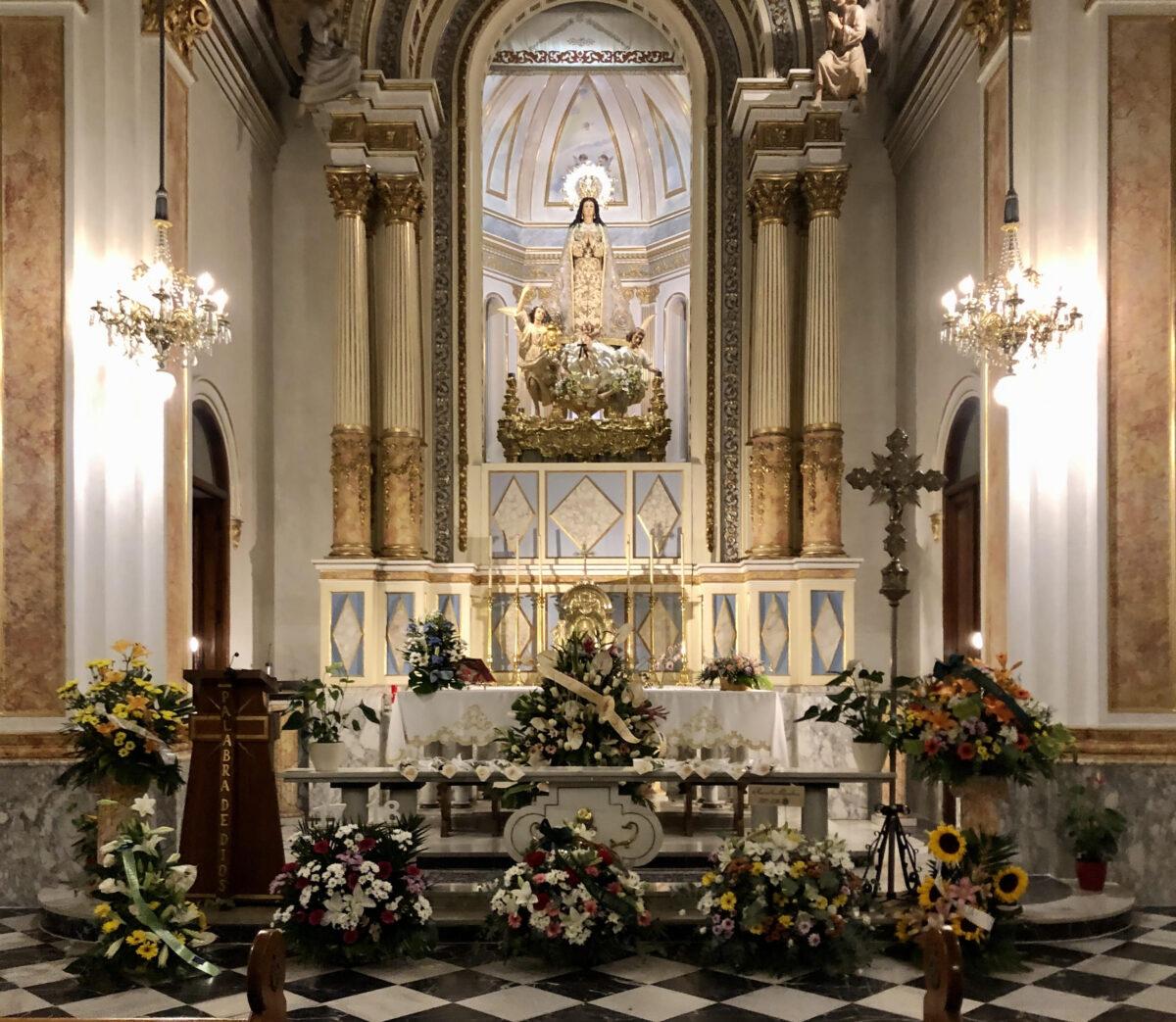 La Ofrenda más especial a la Virgen Purísima