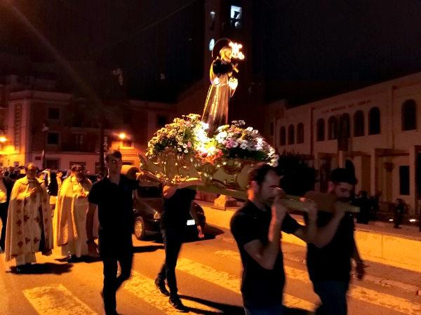 Celebració de la festivitat de Sant Francesc d'Assís a la nostra Parròquia