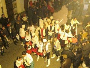 Els majorals van participar disfressats de pastorets