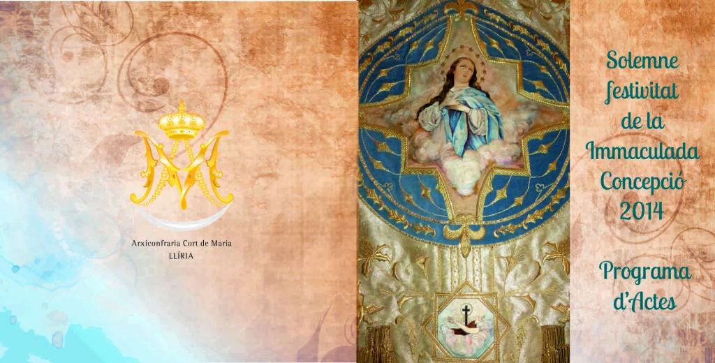 Festivitat de la Immaculada 2014